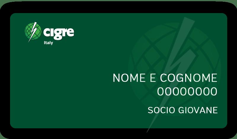 Socio Giovane - CIGRE Italia