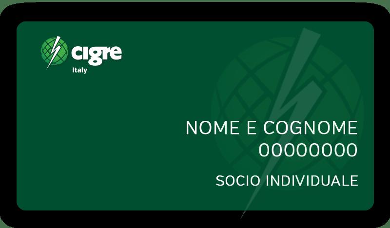 Socio Individuale - CIGRE Italia