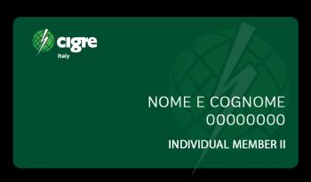 Individual Member II - CIGRE Italia